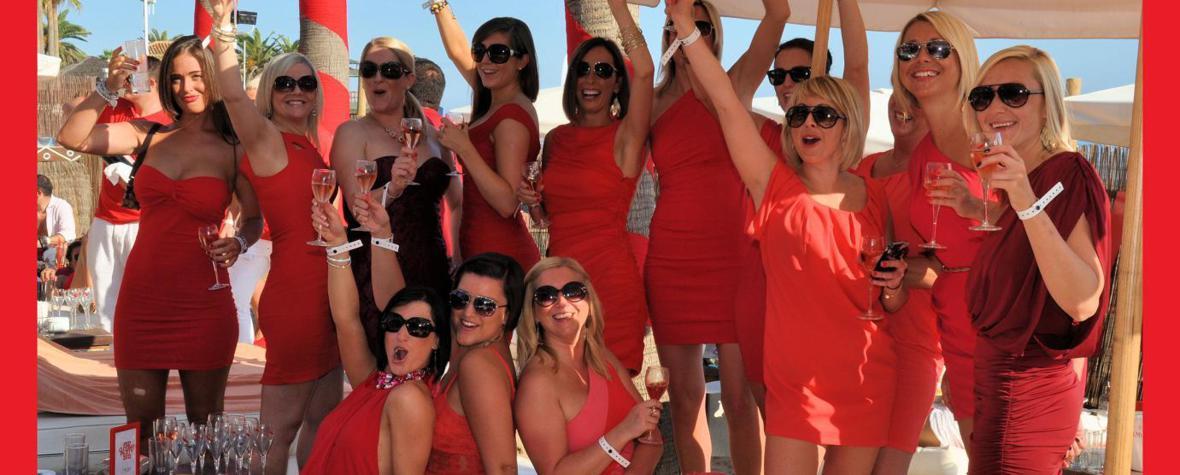 Red Party Nikki-Beach Marbella - Event - Photo by Frank W. Zumpf
