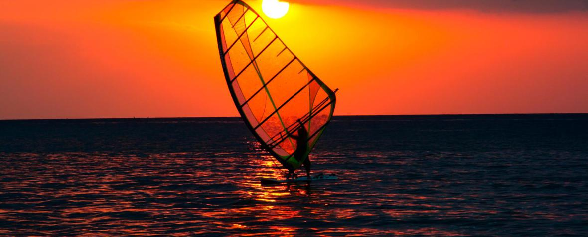 Sonnenuntergang - Tarifa Sunset - Frank W. Zumpf