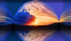 Sonnenuntergang - Tarifa  - Costa del Sol - Photos by Frank W. Zumpf