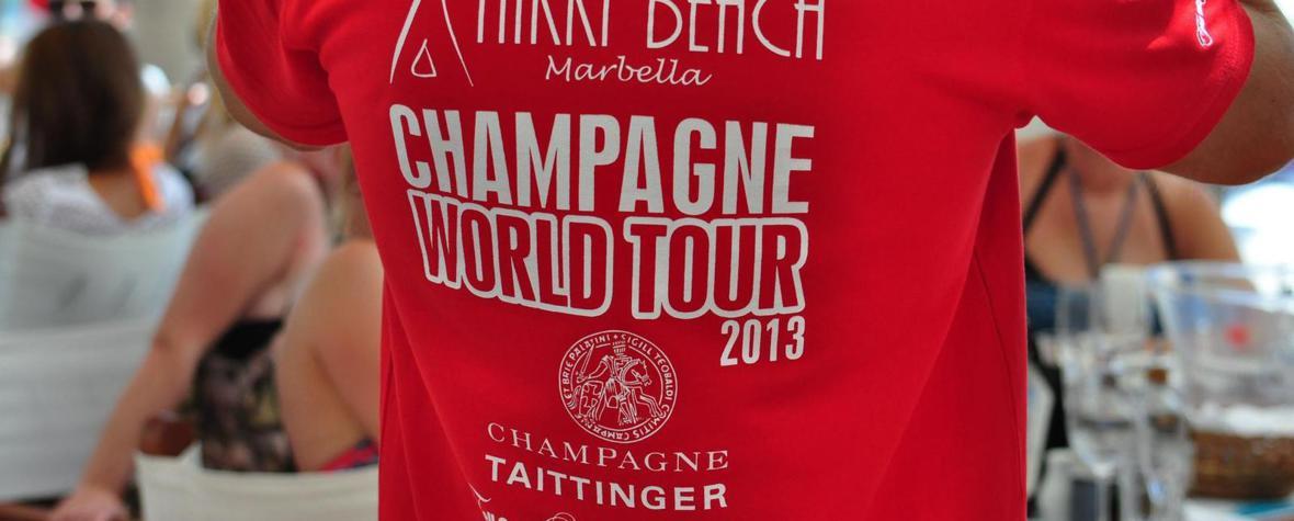 Champagner World Tour Nikki Beach Marbella - Photo by Frank W. Zumpf